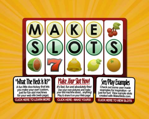 Makeslots.com Screenshot