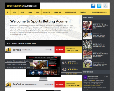 Sportsbettingacumen.com